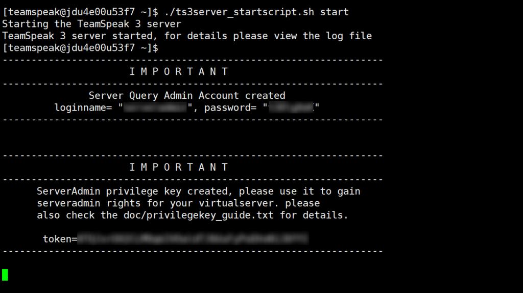 TeamSpeak服务器搭建与使用